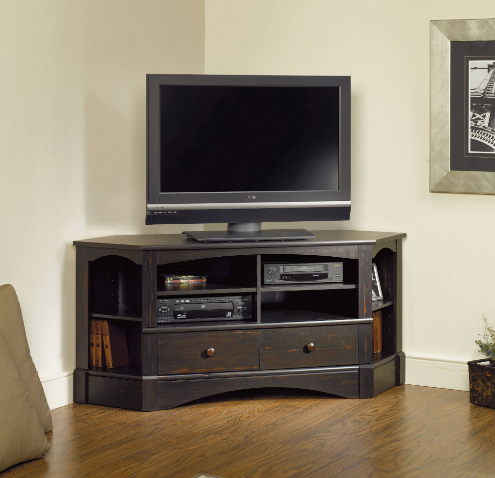 """Corner Tv Stand For Flat Screen 60 Inch With Storage With Corner Tv Stands For Tvs Up To 60"""" (View 7 of 20)"""