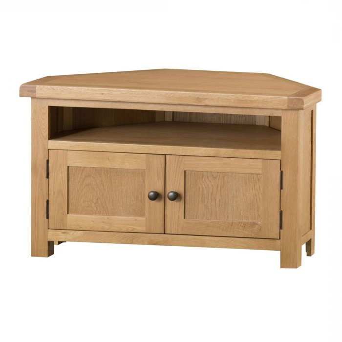 Corner Tv Units For Sale From Uk Shops – Corner Tv Units Page Pertaining To Sidmouth Oak Corner Tv Stands (View 14 of 20)