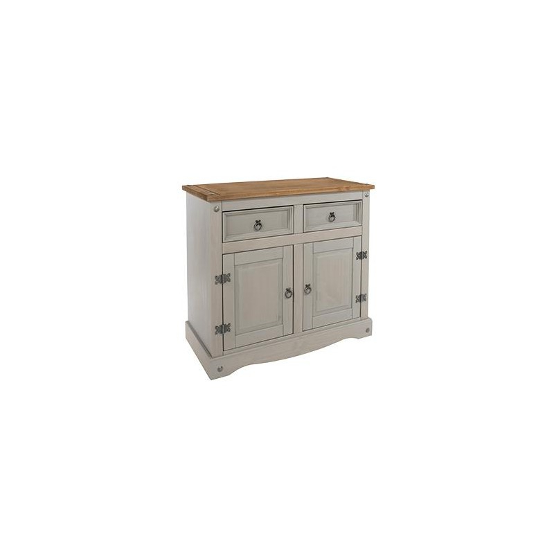 Corona Grey Small Sideboard – Brixton Beds For Corona Grey Corner Tv Stands (View 18 of 20)