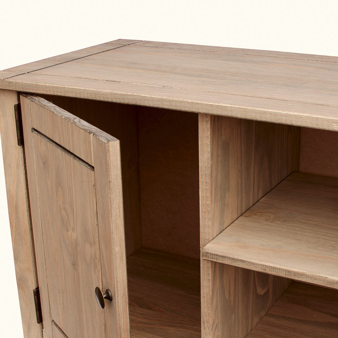 Corona Panama Tv Cabinet Media Dvd Unit Solid Pine Wood With Panama Tv Stands (View 13 of 20)