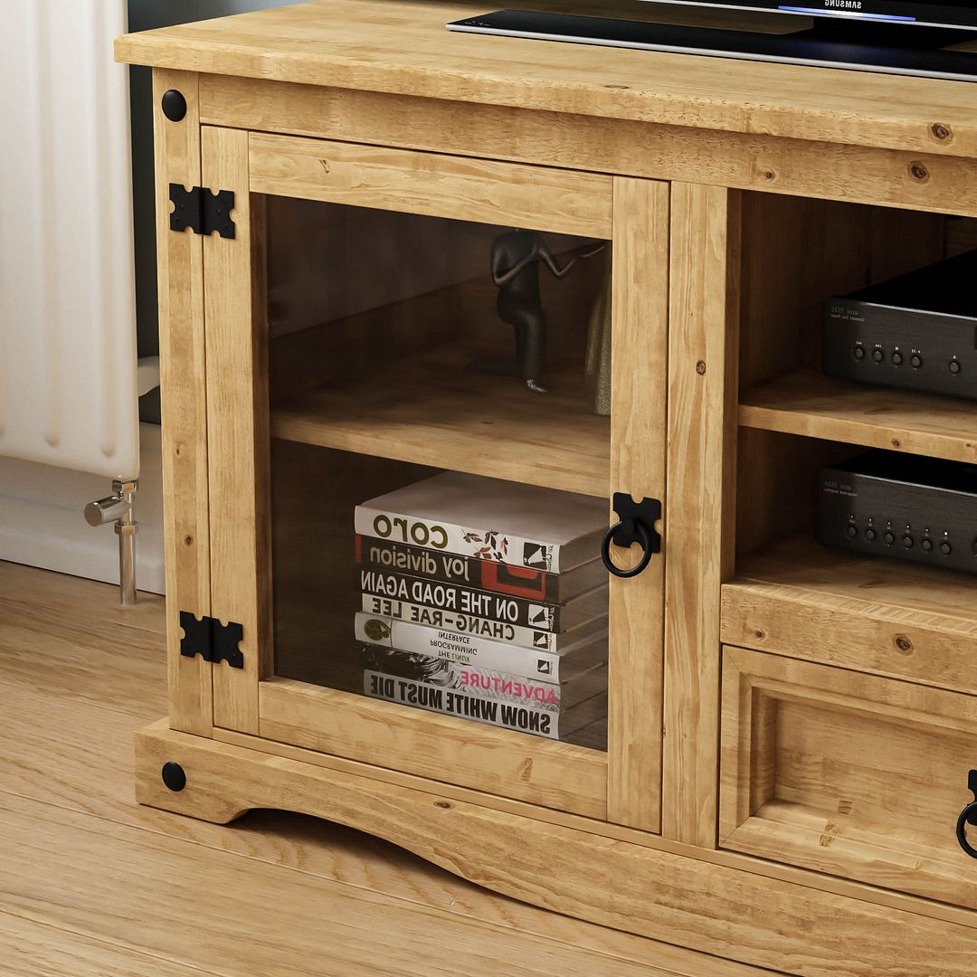 Corona Tv Unit Entertainment Cabinet Display Storage Stand For Corona Grey Corner Tv Stands (View 11 of 20)