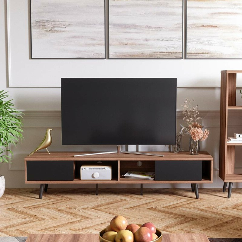 """Corrigan Studio® Spector Tv Stand For Tvs Up To 78 For Tenley Tv Stands For Tvs Up To 78"""" (View 3 of 20)"""