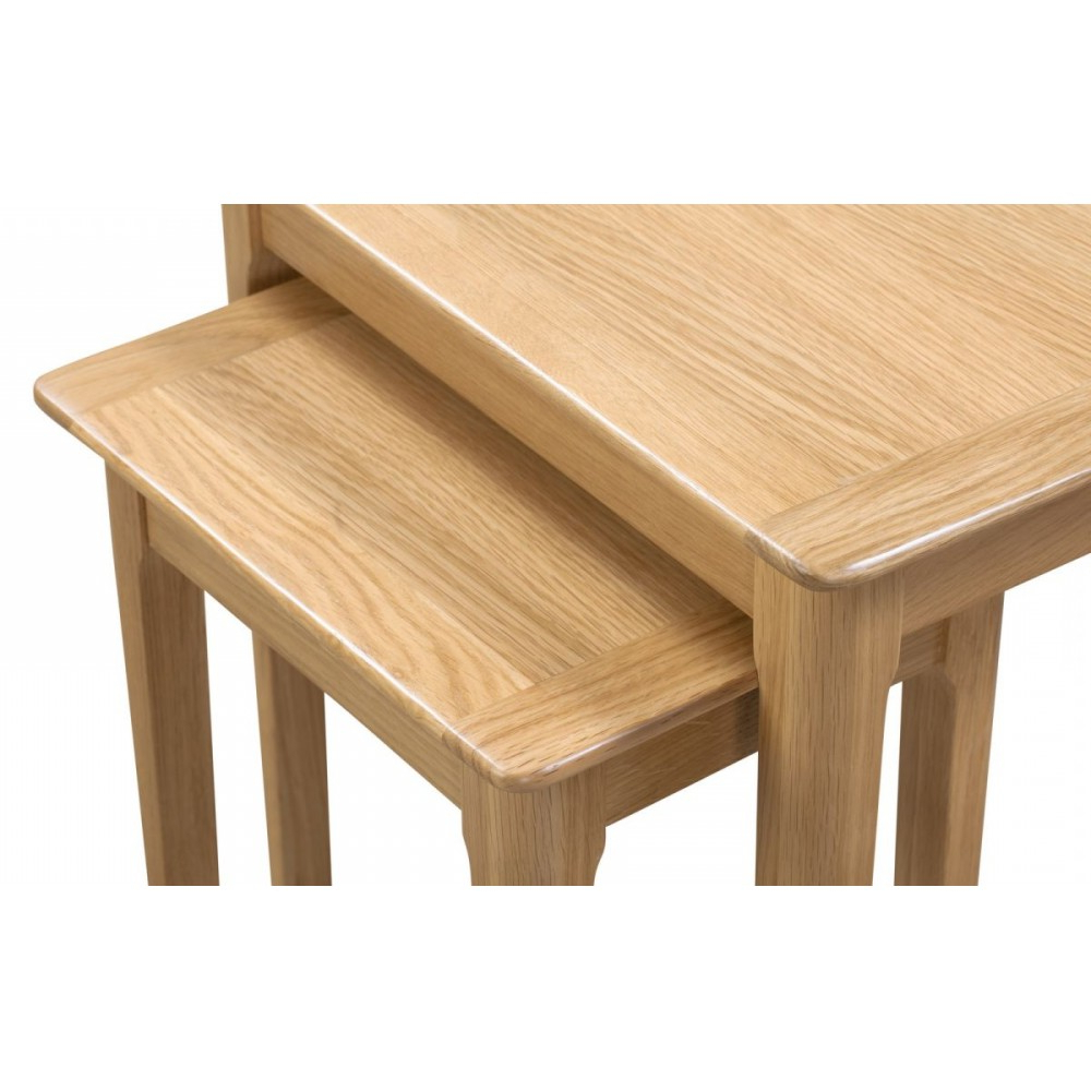 Cotswold Nest Of 2 Tables Intended For Corona Small Tv Stands (View 10 of 20)