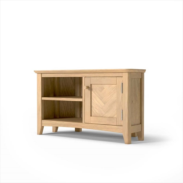 Cotswold Oak Corner Tv Unit Buy Online Intended For Cotswold Widescreen Tv Unit Stands (View 12 of 20)
