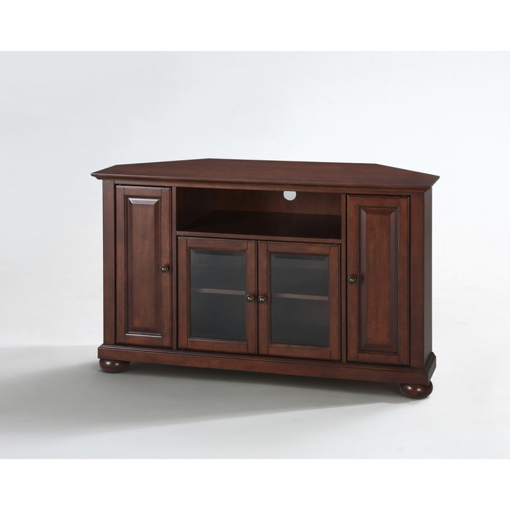 """Crosley Alexandria 48"""" Tv Stand Finish: Vintage Mahogany Pertaining To Alexandria Corner Tv Stands For Tvs Up To 48"""" Mahogany (View 8 of 20)"""