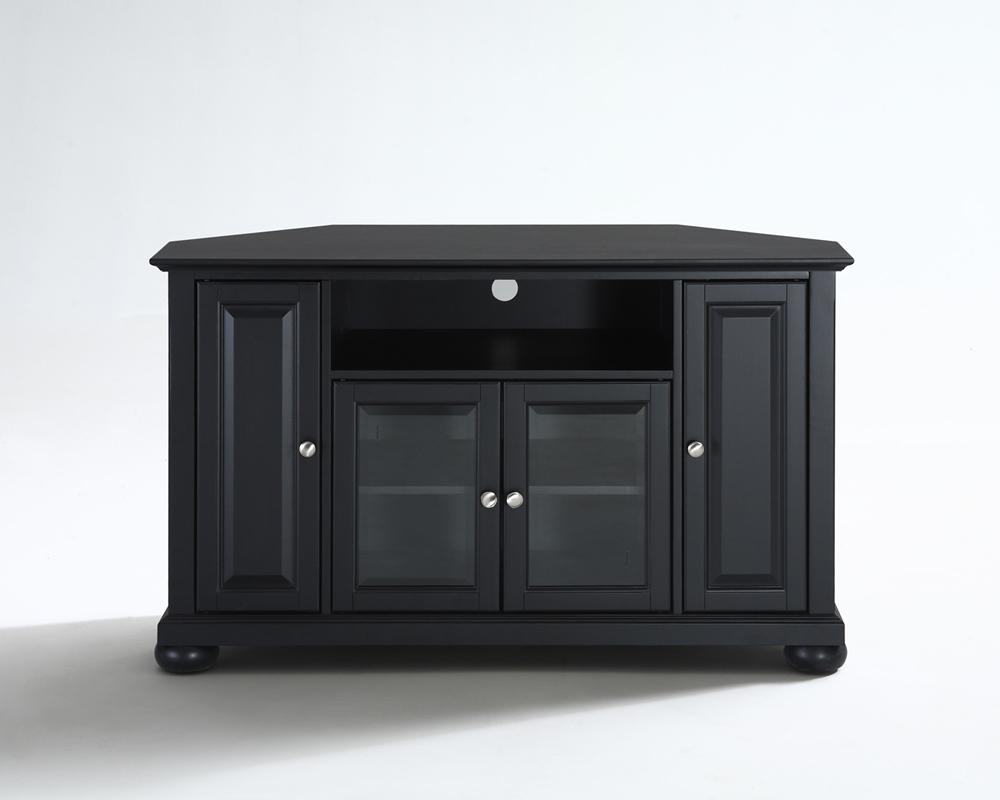 "Crosley Furniture – Alexandria 48"" Corner Tv Stand In Throughout Priya Corner Tv Stands (View 9 of 20)"