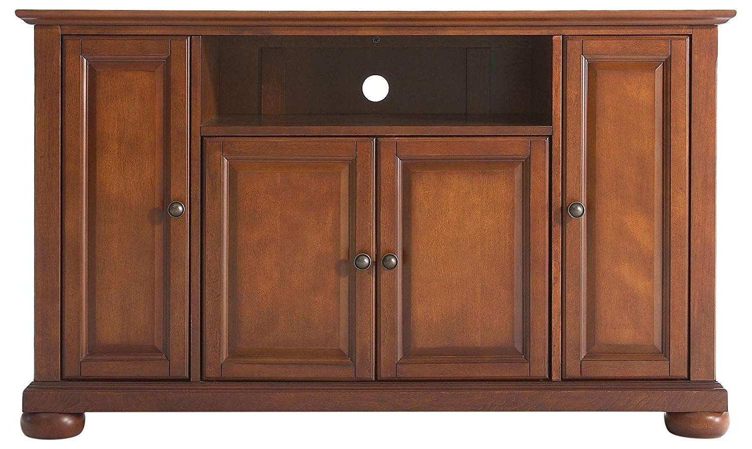 """Crosley Furniture Alexandria 48 Inch Tv Stand – Classic Pertaining To Alexandria Corner Tv Stands For Tvs Up To 48"""" Mahogany (View 18 of 20)"""