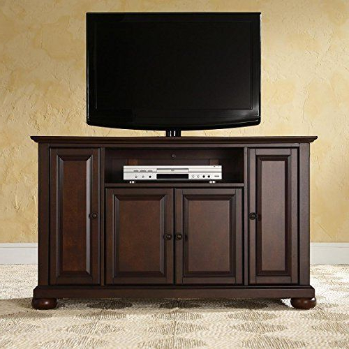 """Crosley Furniture Alexandria 48 Inch Tv Standcrosley In Alexandria Corner Tv Stands For Tvs Up To 48"""" Mahogany (View 6 of 20)"""