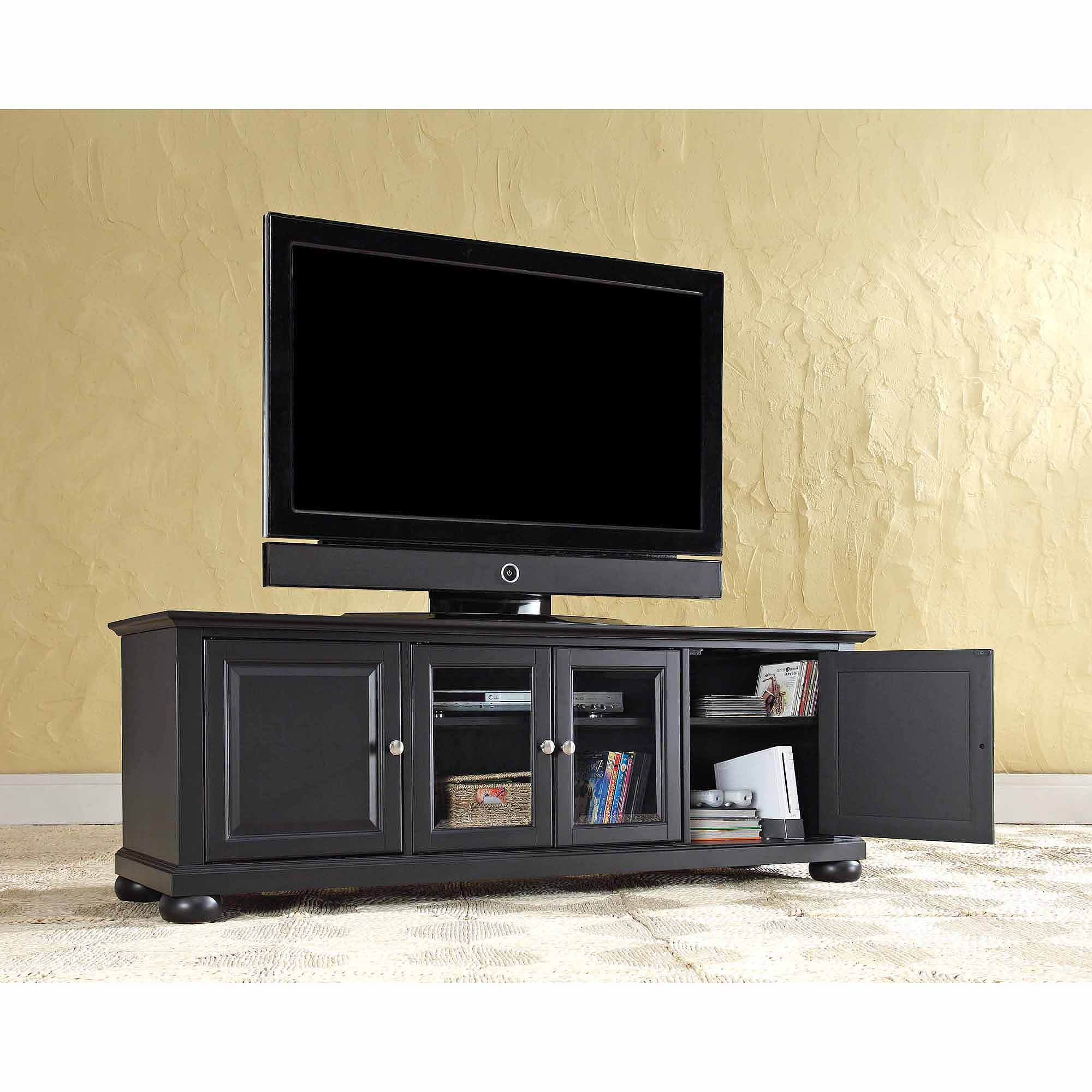 """Crosley Furniture Alexandria Low Profile Tv Stand For Tvs In Tv Mount And Tv Stands For Tvs Up To 65"""" (View 14 of 20)"""