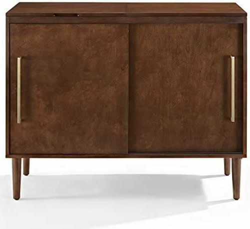 Crosley Furniture Cambridge 60 Inch Low Profile Tv Stand Inside Shelby Corner Tv Stands (View 11 of 20)