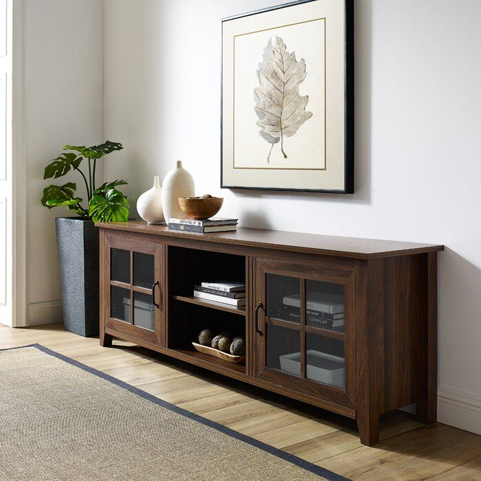 """Dake Tv Stand For Tvs Up To 78 Inches & Reviews   Joss Throughout Tenley Tv Stands For Tvs Up To 78"""" (View 8 of 20)"""