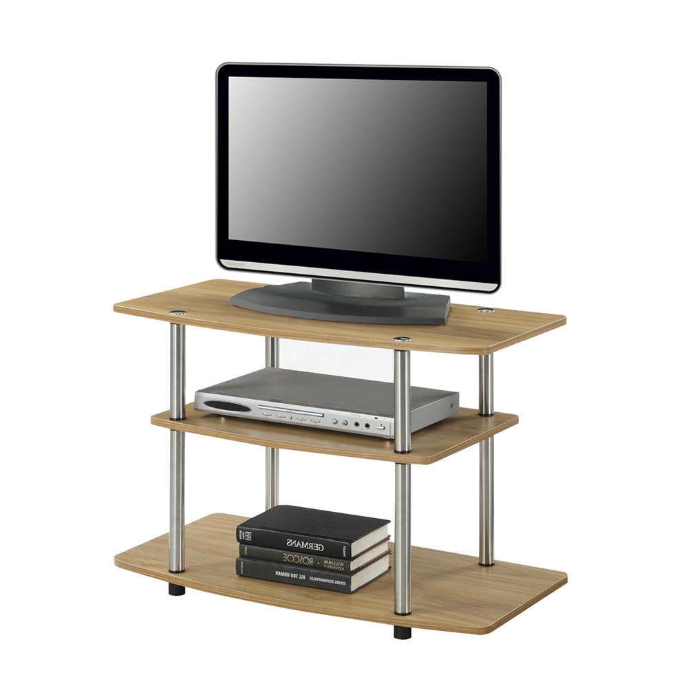 Designs2go 3 Tier Tv Stand Throughout Tier Entertainment Tv Stands In Black (View 8 of 20)
