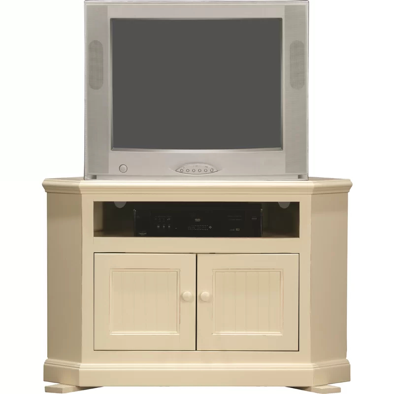 """Didier Corner Tv Stand For Tvs Up To 43"""" & Reviews   Joss Throughout Maubara Tv Stands For Tvs Up To 43"""" (View 8 of 20)"""