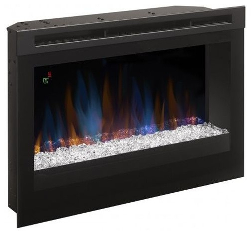 """Dimplex Haley Media Console Electric Fireplace With With Boston 01 Electric Fireplace Modern 79"""" Tv Stands (View 2 of 7)"""