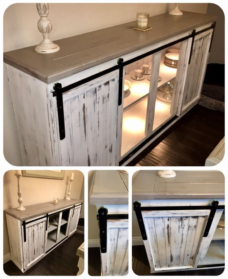 Diy Tv Stand Ideas : Diy – Sideboard / Buffet Table Regarding Dark Brown Tv Cabinets With 2 Sliding Doors And Drawer (View 14 of 20)