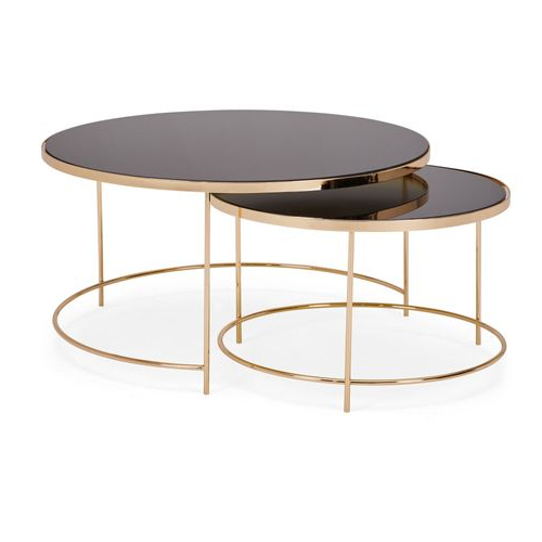 Dunelm Fulton Set Of 2 Coffee Tables – Coffee Table Design With Regard To Fulton Corner Tv Stands (View 18 of 20)