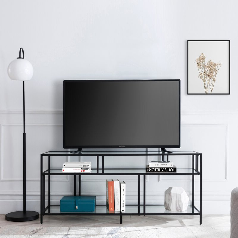 """Ebern Designs Adayah Tv Stand For Tvs Up To 60"""" & Reviews Intended For Kasen Tv Stands For Tvs Up To 60"""" (View 16 of 20)"""