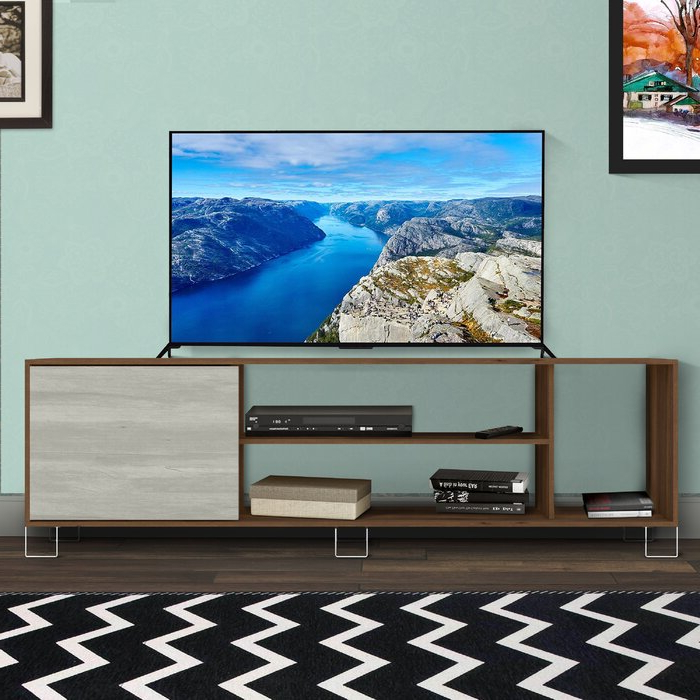 """Ebern Designs Aletse Tv Stand For Tvs Up To 85"""" 