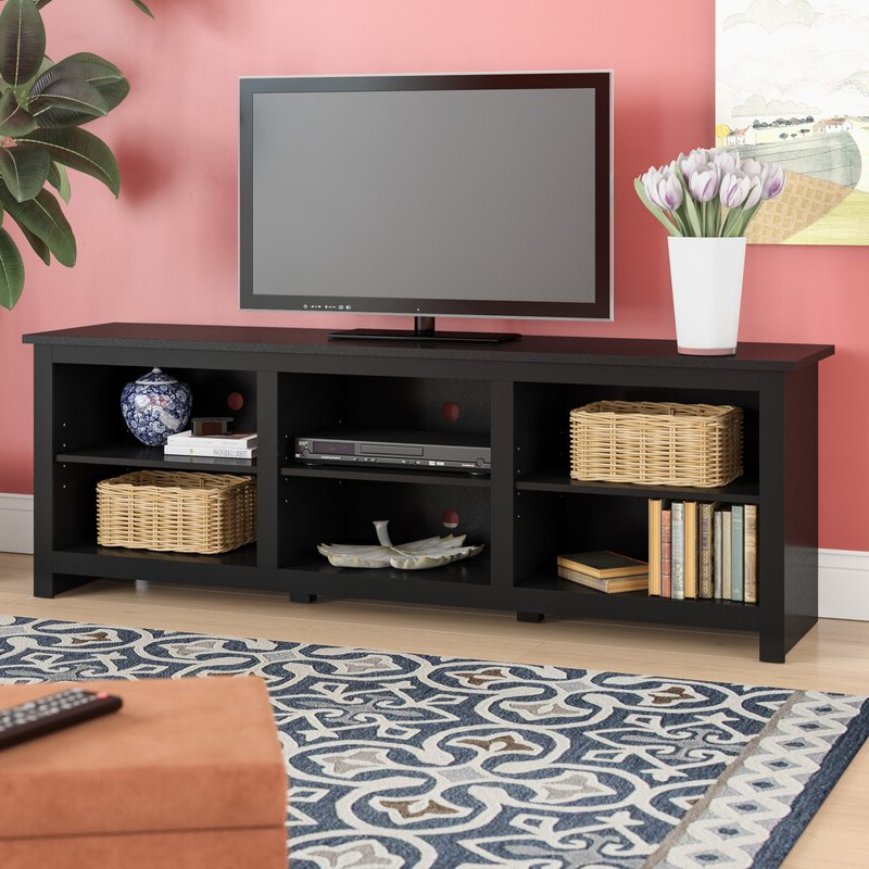 """Ebern Designs Alisée Tv Stand For Tvs Up To 78"""" & Reviews Throughout Tenley Tv Stands For Tvs Up To 78"""" (View 5 of 20)"""