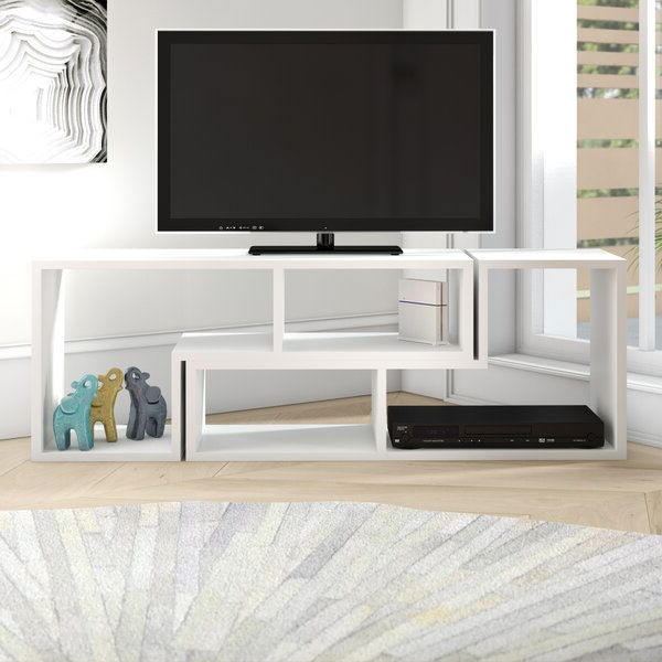"""Ebern Designs Bynum Tv Stand For Tvs Up To 55"""" & Reviews With Baba Tv Stands For Tvs Up To 55"""" (View 12 of 20)"""