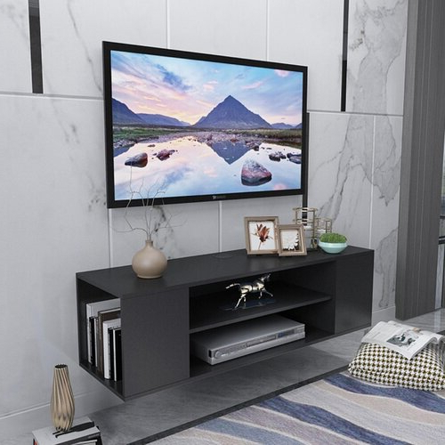 """Ebern Designs Keadrian Floating Tv Stand For Tvs Up To 50 Pertaining To Aaliyah Floating Tv Stands For Tvs Up To 50"""" (View 10 of 20)"""