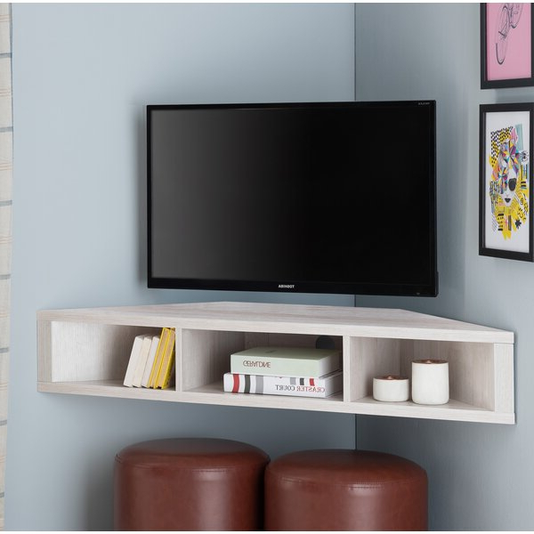 """Ebern Designs Leroux Floating Tv Stand For Tvs Up To 50 Pertaining To Aaliyah Floating Tv Stands For Tvs Up To 50"""" (View 9 of 20)"""