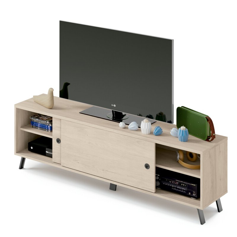 """Ebern Designs Vikesha Tv Stand For Tvs Up To 78""""   Wayfair Regarding Grandstaff Tv Stands For Tvs Up To 78"""" (View 9 of 20)"""