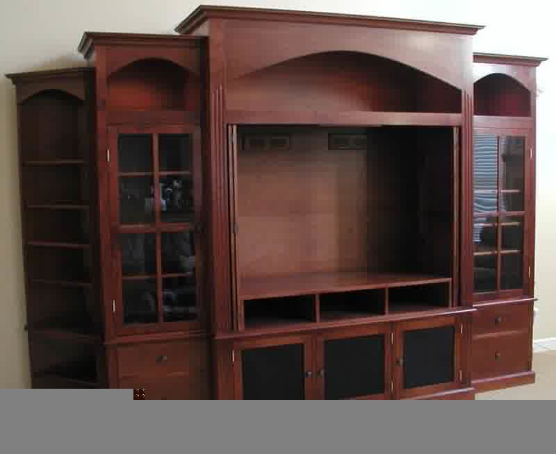 Entertainment Center With Doors, Another Choice Of Tv Throughout Dark Brown Tv Cabinets With 2 Sliding Doors And Drawer (View 6 of 20)