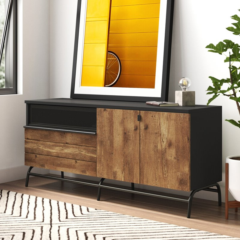 """Enzo Tv Stand For Tvs Up To 65"""" 