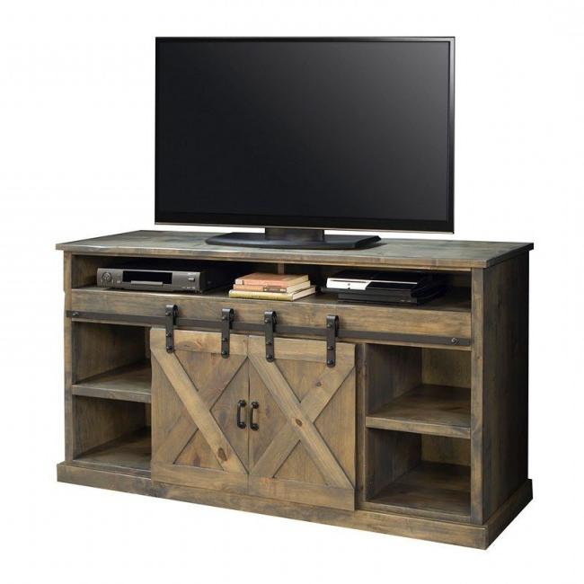 Farmhouse 66 Inch Fireplace Console (barnwood With Better Homes & Gardens Herringbone Tv Stands With Multiple Finishes (View 2 of 20)