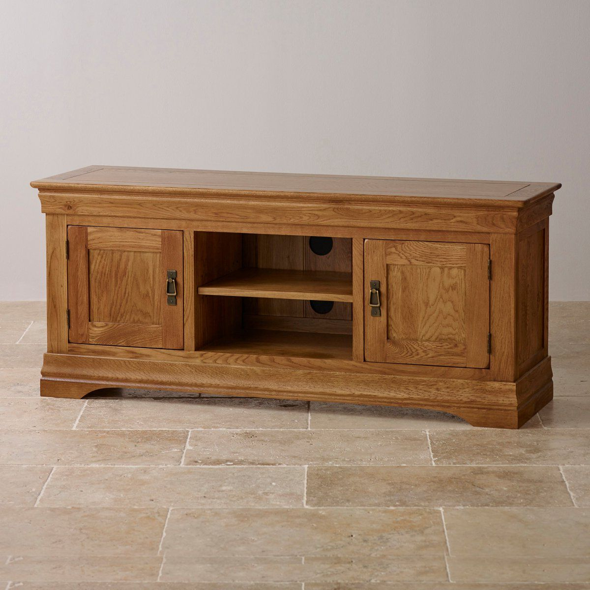 Farmhouse Tv Stand   Farmhouse Tv Unit   Oak Furnitureland In Jackson Wide Tv Stands (View 9 of 20)