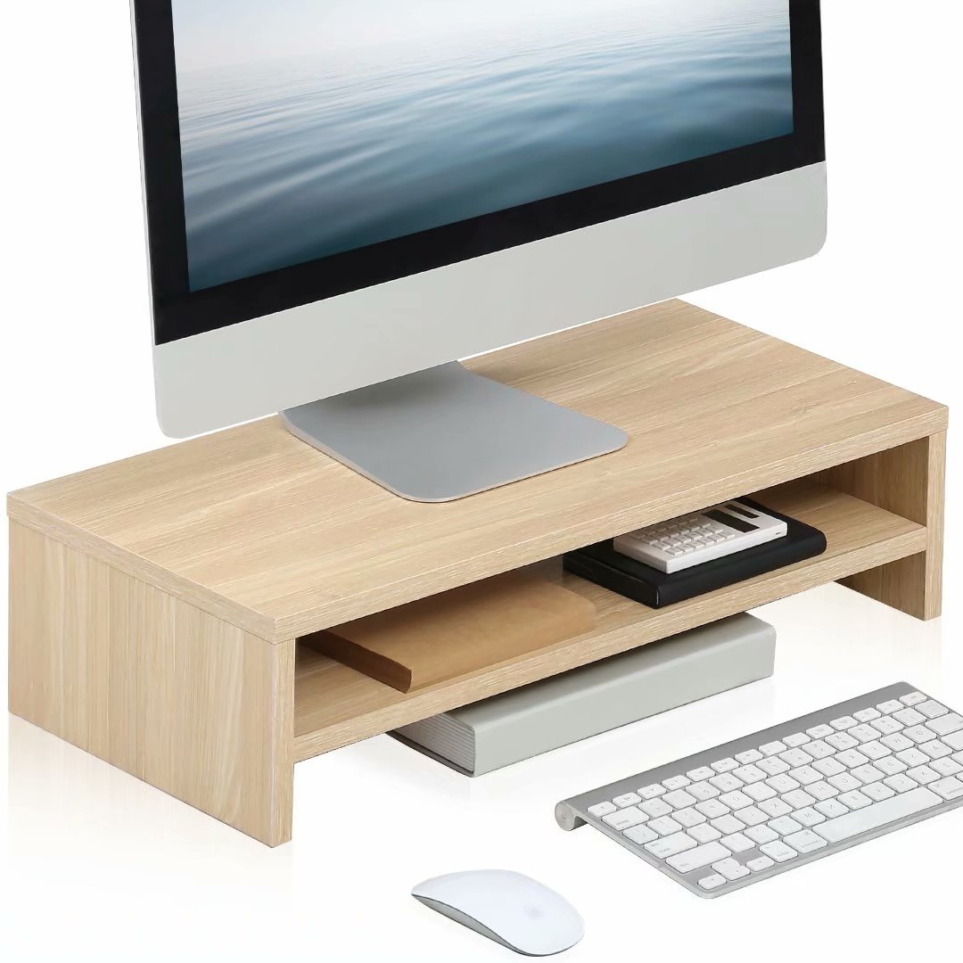 Fitueyes Monitor Stand Laptop/printer/tv Screen Riser Desk Pertaining To Space Saving Gaming Storage Tv Stands (View 5 of 20)