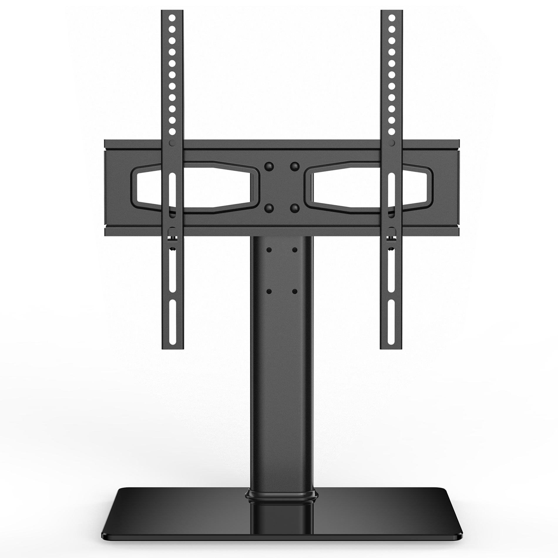 Fitueyes Swivel Tabletop Tv Stand S Series 27 55 Inch | Tv Intended For Fitueyes Rolling Tv Cart For Living Room (View 7 of 20)
