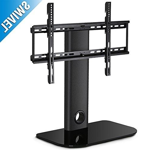 Fitueyes Universal Tv Stand / Base + Mount For Most 32 With Fitueyes Rolling Tv Cart For Living Room (View 3 of 20)