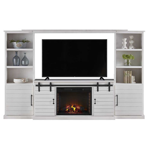 """Floating Tv Console With Fireplace – Mike Dunne For Boston 01 Electric Fireplace Modern 79"""" Tv Stands (View 1 of 7)"""