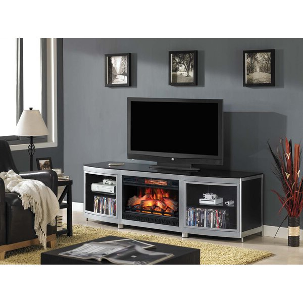 """Foundry Select Kinde Tv Stand For Tvs Up To 85"""" With For Bustillos Tv Stands For Tvs Up To 85"""" (View 12 of 20)"""