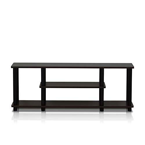 Furinno 12250r1wn/bk Turn N Tube No Tools 3d 3 Tier With Regard To Furinno Turn N Tube No Tool 3 Tier Entertainment Tv Stands (View 10 of 20)