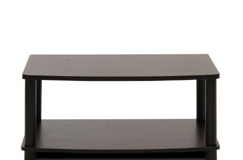 Furinno 13191ex/bk Turn N Tube No Tools 2 Tier Elevated Tv With Furinno 2 Tier Elevated Tv Stands (View 6 of 20)