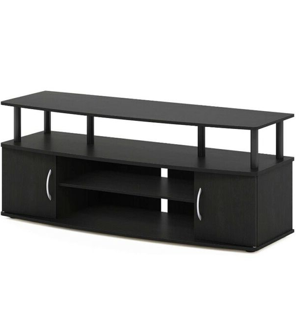 Furinno Jaya Blackwood Large Entertainment Tv Stand For Furinno Jaya Large Entertainment Center Tv Stands (View 5 of 20)