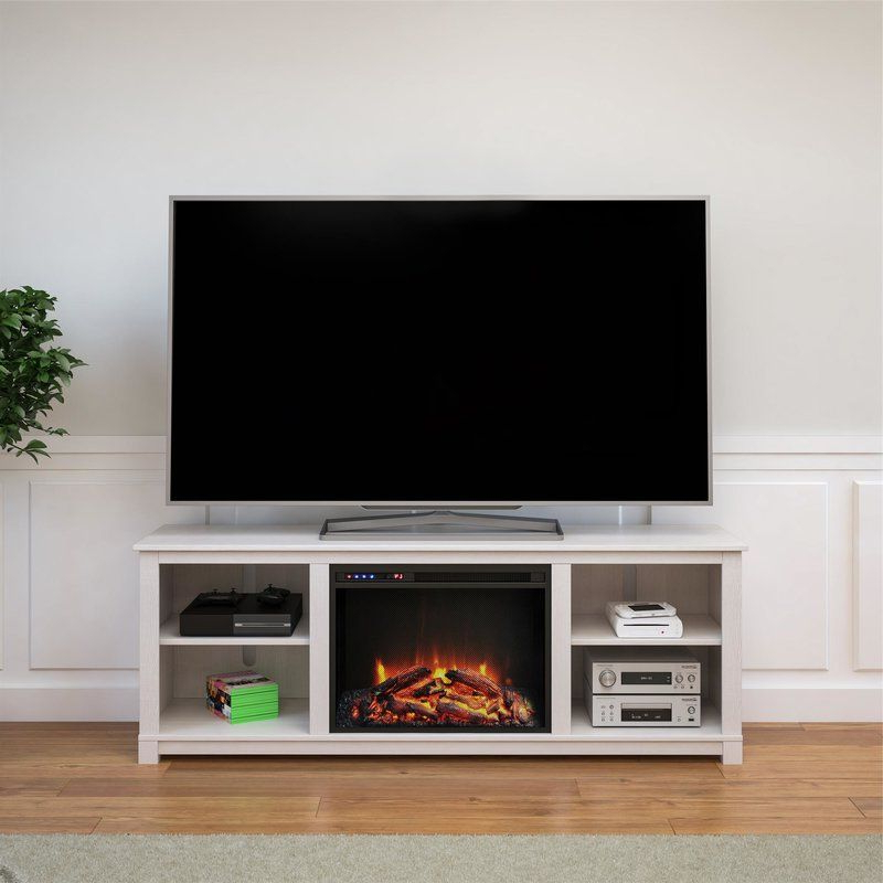 """Gaither Tv Stand For Tvs Up To 65"""" With Fireplace Included Within Hetton Tv Stands For Tvs Up To 70"""" With Fireplace Included (View 9 of 20)"""