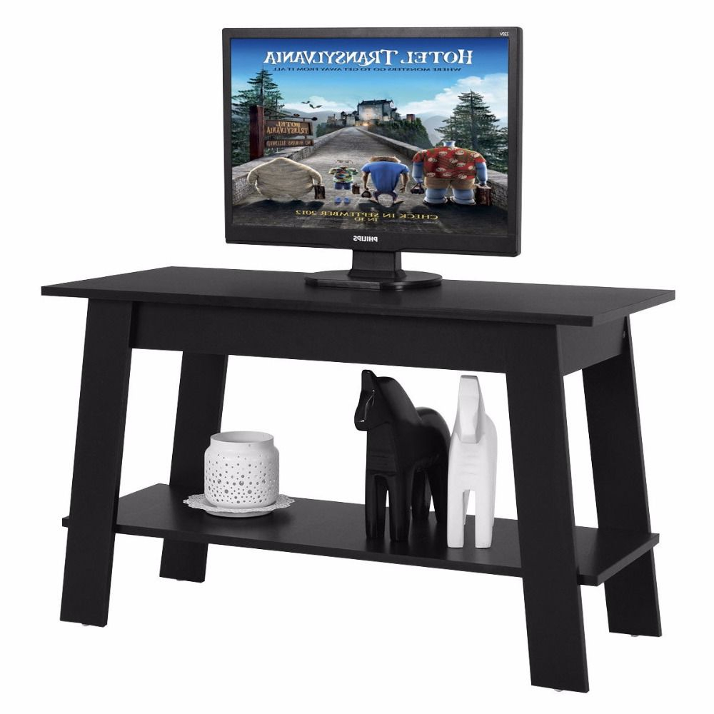 Giantex 2 Tier Elevated Tv Stand Coffee Table Multipurpose Throughout Furinno 2 Tier Elevated Tv Stands (View 10 of 20)