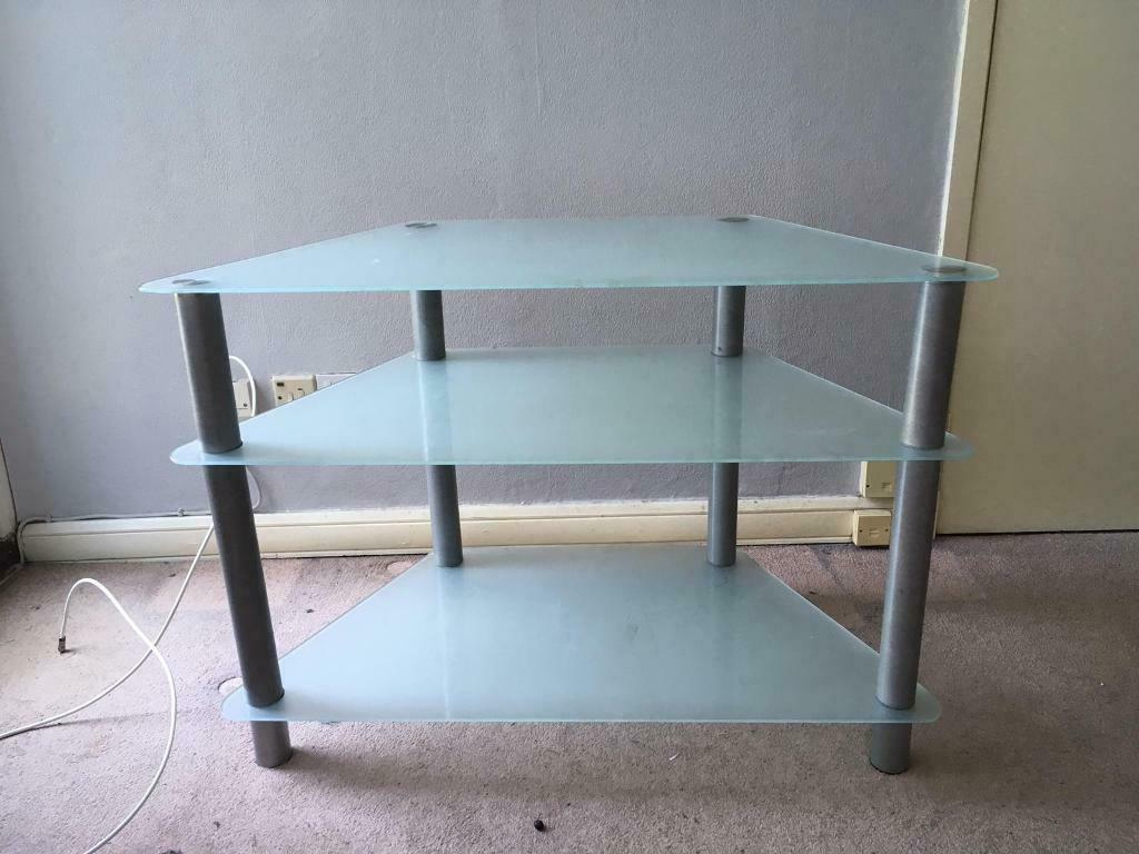 Glass Tv Unit | In Bromley, London | Gumtree With Bromley Oak Tv Stands (View 11 of 20)