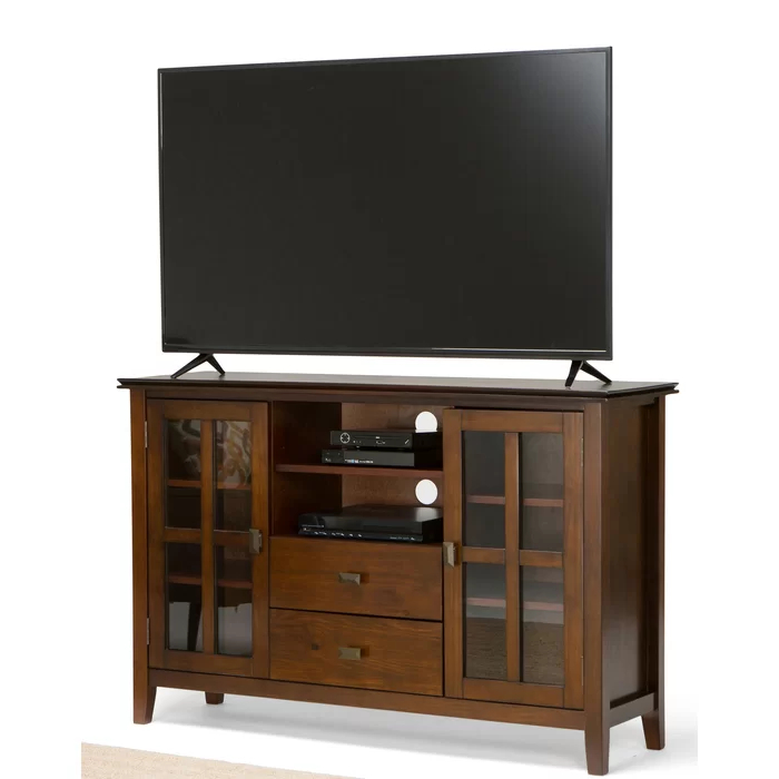 """Gosport Solid Wood Tv Stand For Tvs Up To 65"""" In 2020 Within Grenier Tv Stands For Tvs Up To 65"""" (View 12 of 20)"""