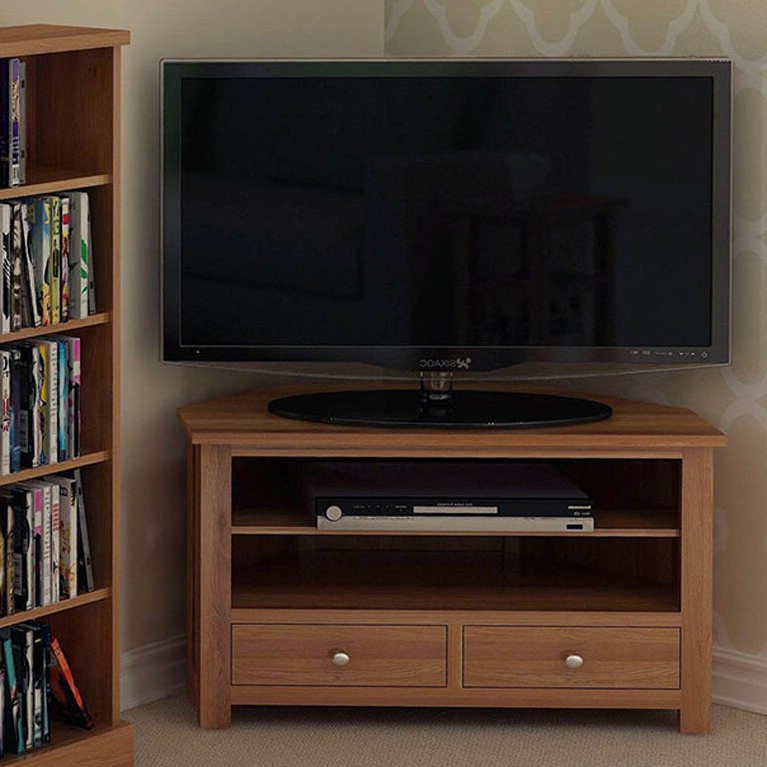 """Gracie Oaks Hatcher Corner Tv Stand For Tvs Up To 43 Throughout Orrville Tv Stands For Tvs Up To 43"""" (View 8 of 20)"""
