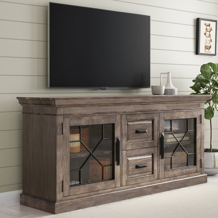 """Gracie Oaks Tennison Tv Stand For Tvs Up To 85"""" & Reviews Pertaining To Bustillos Tv Stands For Tvs Up To 85"""" (View 15 of 20)"""