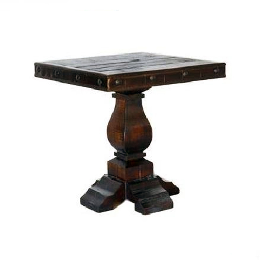Grand Hacienda Santiago End Table – 4 State Rustic Furniture In Santiago Tv Stands (View 14 of 20)