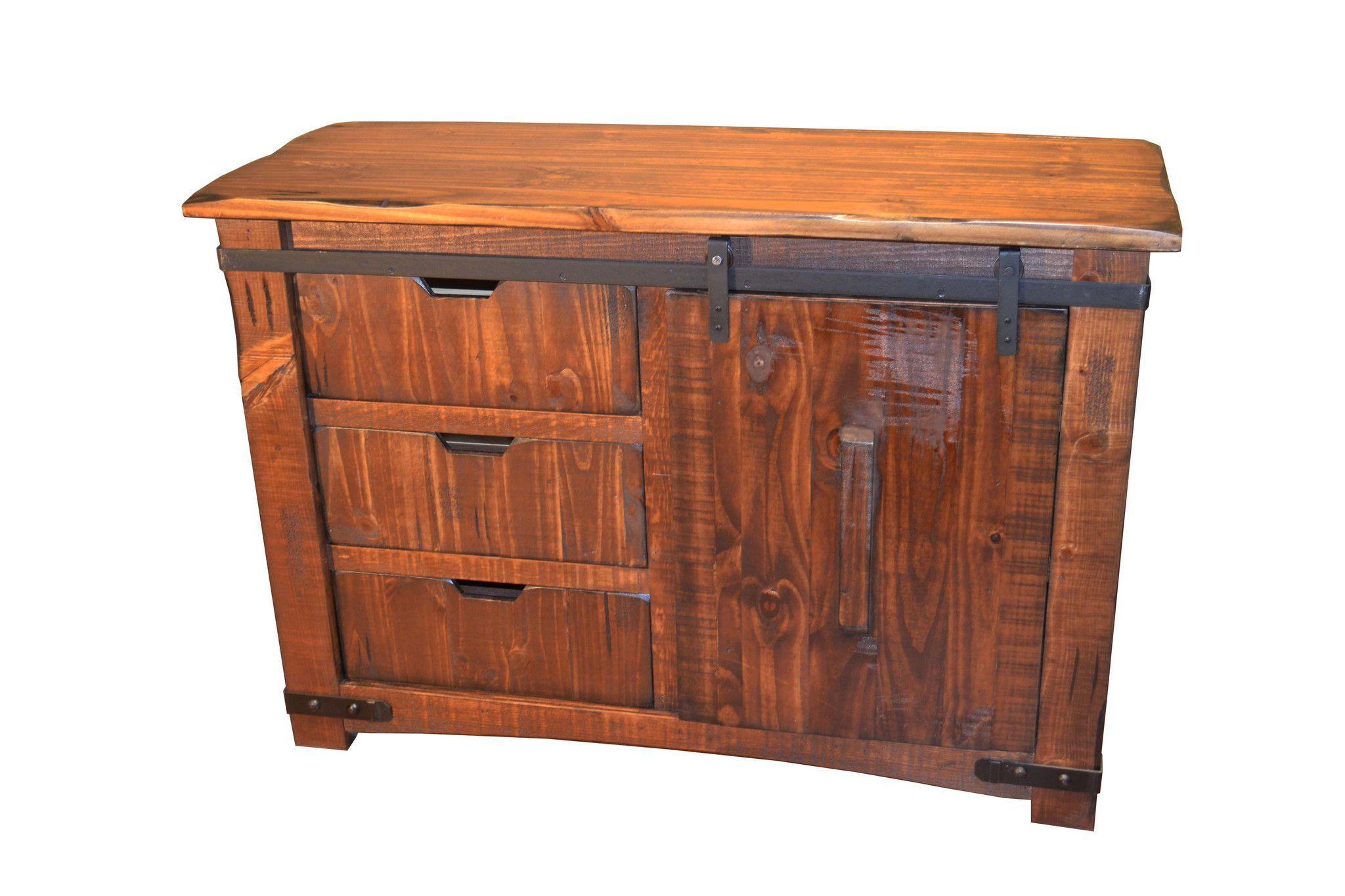 "Granville Sliding Door 50 Inch Tv Stand | Tv Stand Wood In Rustic Corner 50"" Solid Wood Tv Stands Gray (View 12 of 20)"