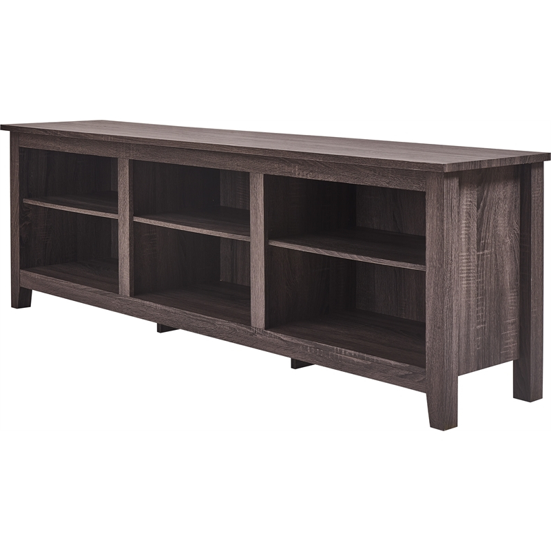"""Gray Tv Stands Within Del Mar 50"""" Corner Tv Stands White And Gray (View 6 of 20)"""