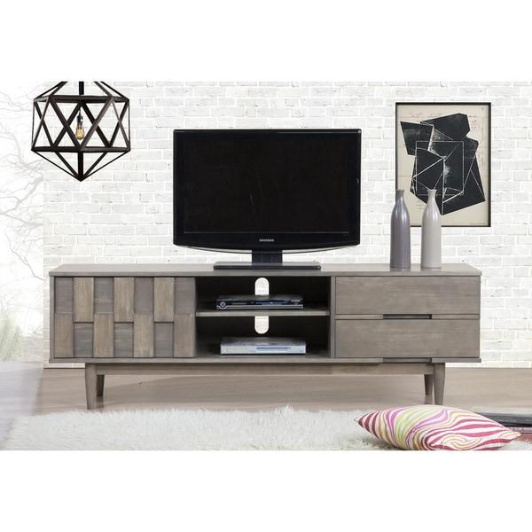 Grey Tessuto 70 Inch Entertainment Center – 80008435 Regarding Casablanca Tv Stands (View 2 of 20)