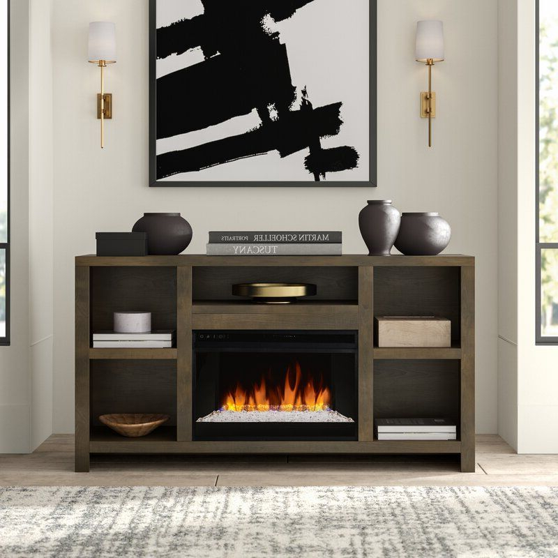 """Greyleigh Columbia Tv Stand For Tvs Up To 65"""" With Within Rickard Tv Stands For Tvs Up To 65"""" With Fireplace Included (View 8 of 20)"""
